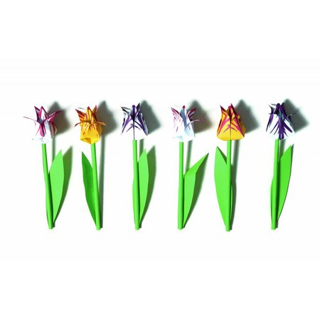 Piet Design Foldable Tulip