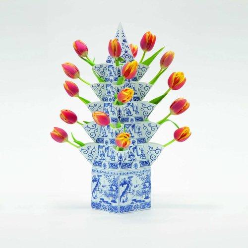 Blumenpyramide