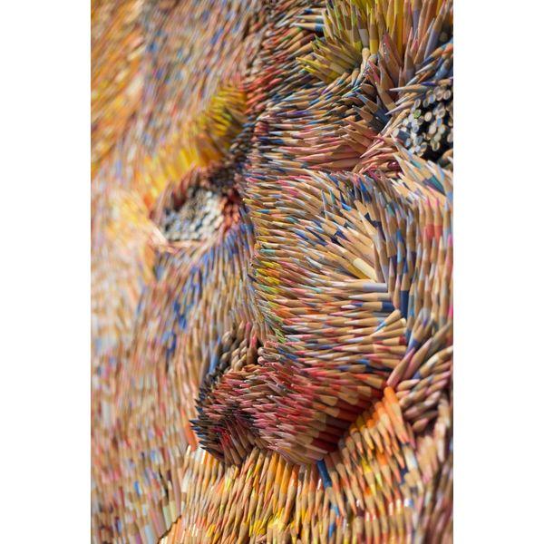 Exklusives Van Gogh Kunstwerk von Monfils - 13.000 Bleistifte