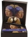 Boucles d'oreilles Fille à la perle