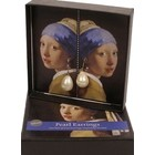 "Earrings ""Girl with a Pearl Earring"""