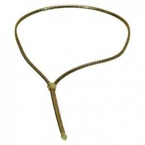 Zipper vergoldet
