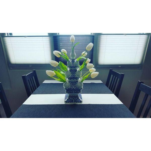 Vase tulipe 3 pièces