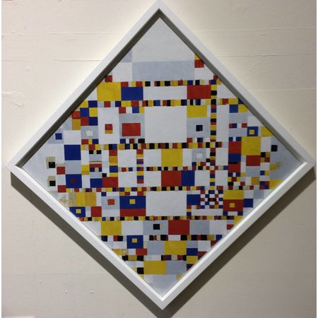 "Mondrian ""Victory Boogie Woogie"""