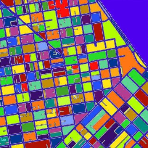 Georges Monfils - Urban Crop Fields San Francisco