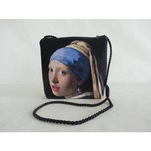 Tasche Mädchen mit Perle