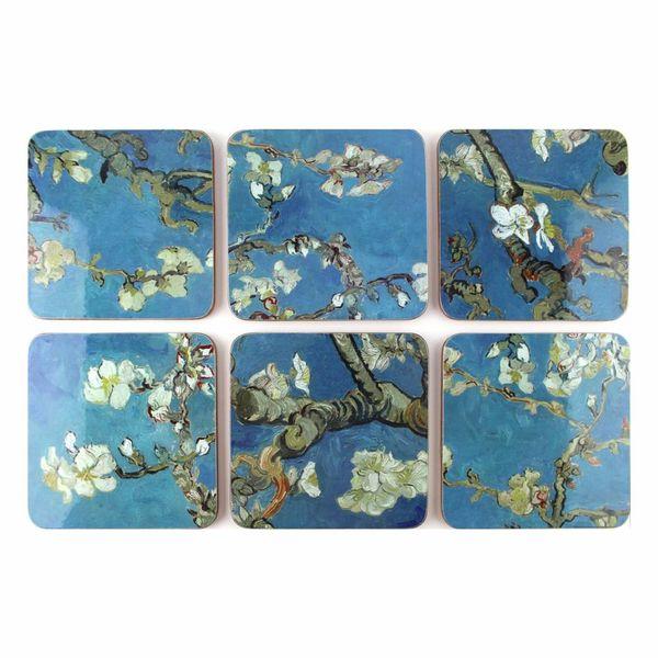 """""""Van Gogh"""" coasters"""
