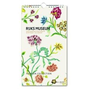 Verjaardagskalender Rijksmuseum