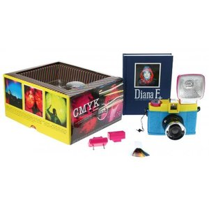 Lomography Diana F+ Camera with Flash - CMYK