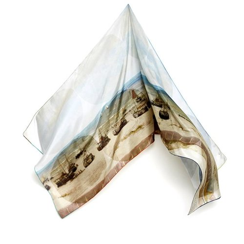 Mesdag foulard soie
