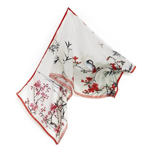 Breitner zijde sjaal