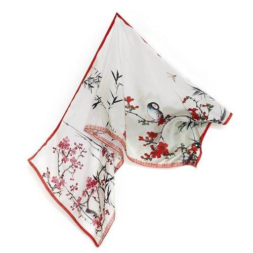foulard de soie Breitner