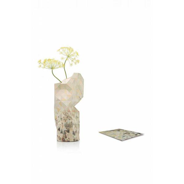 Paper vase cover Avercamp