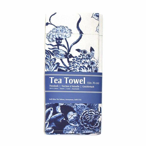 """Tea towel """"Delft bluel"""""""