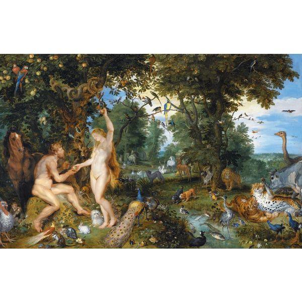 """Affiche """"Adam et Eve"""""""