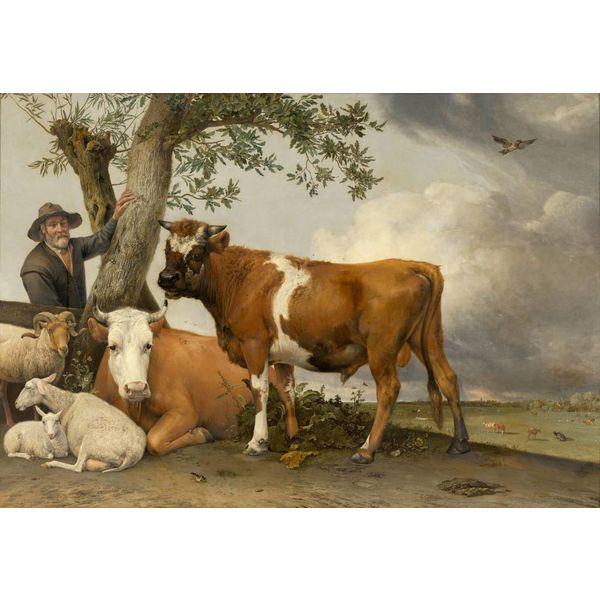 """poster """"The bull"""""""