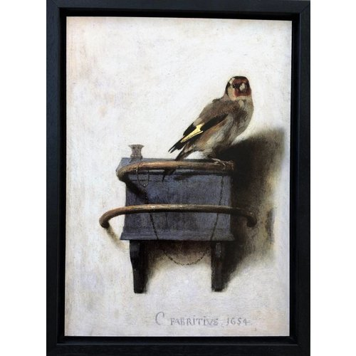 The Goldfinch  in a frame