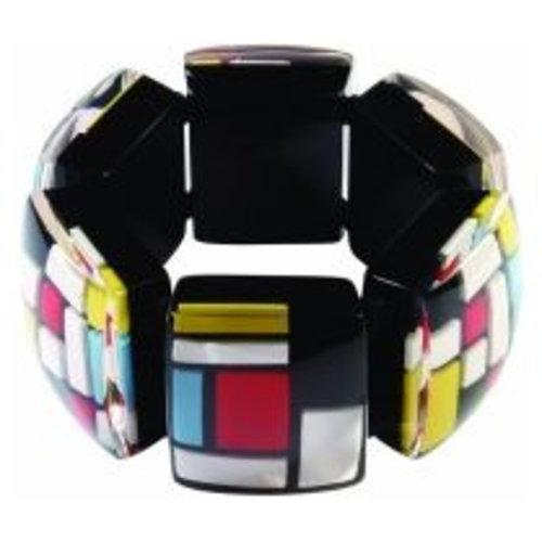 Mondrian Armband