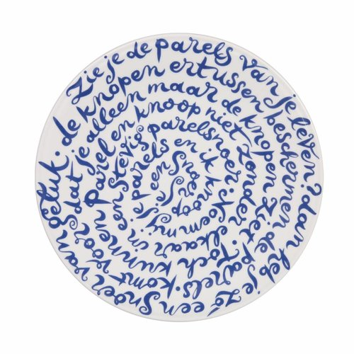 "Royal Delft disk board ""Happiness"""