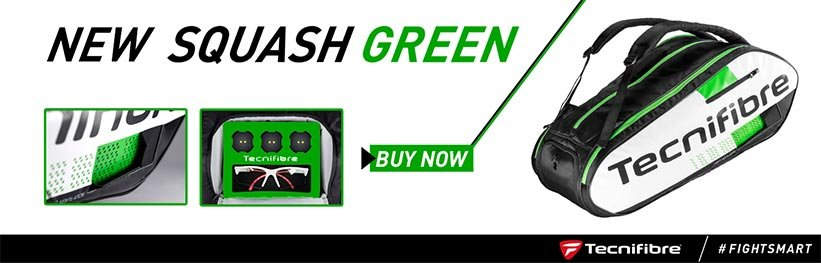 Tecnifibre Squash Green Squashtassen