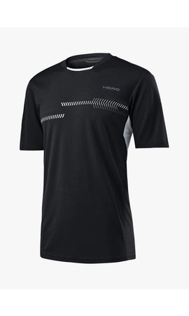 Head Club Technical Shirt - Zwart