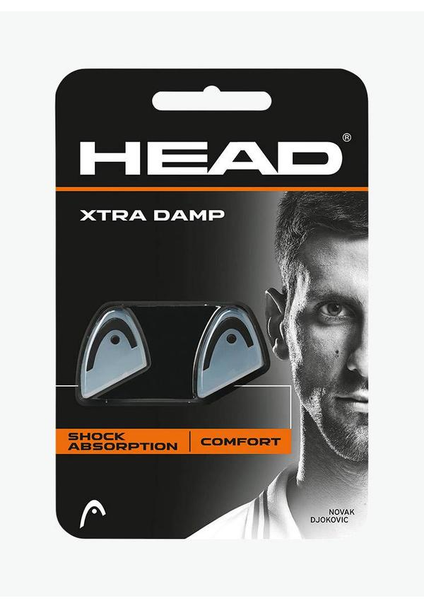 Head Xtra Demper - 2 Stuks - Transparant / Zwart