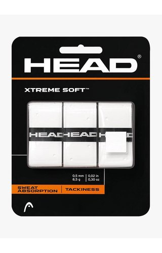 Head Xtremesoft Overgrip - Wit