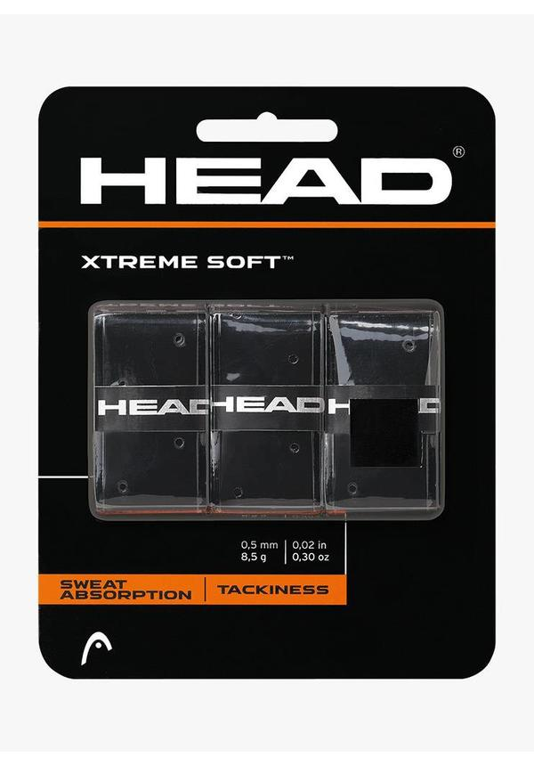 Head Xtremesoft Overgrip - Zwart