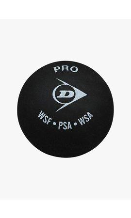 Dunlop Pro Squashbal (dubbele gele stip)