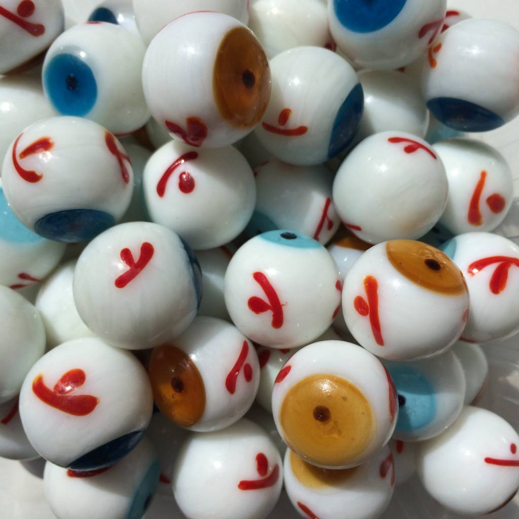 Bruin oog, 20mm