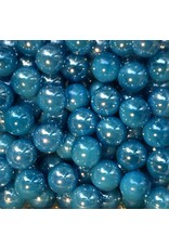 Azuurblauwe parel, 16mm