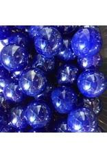 Blauwe parel, 22mm
