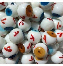 Auge - dunkelblau, 20mm