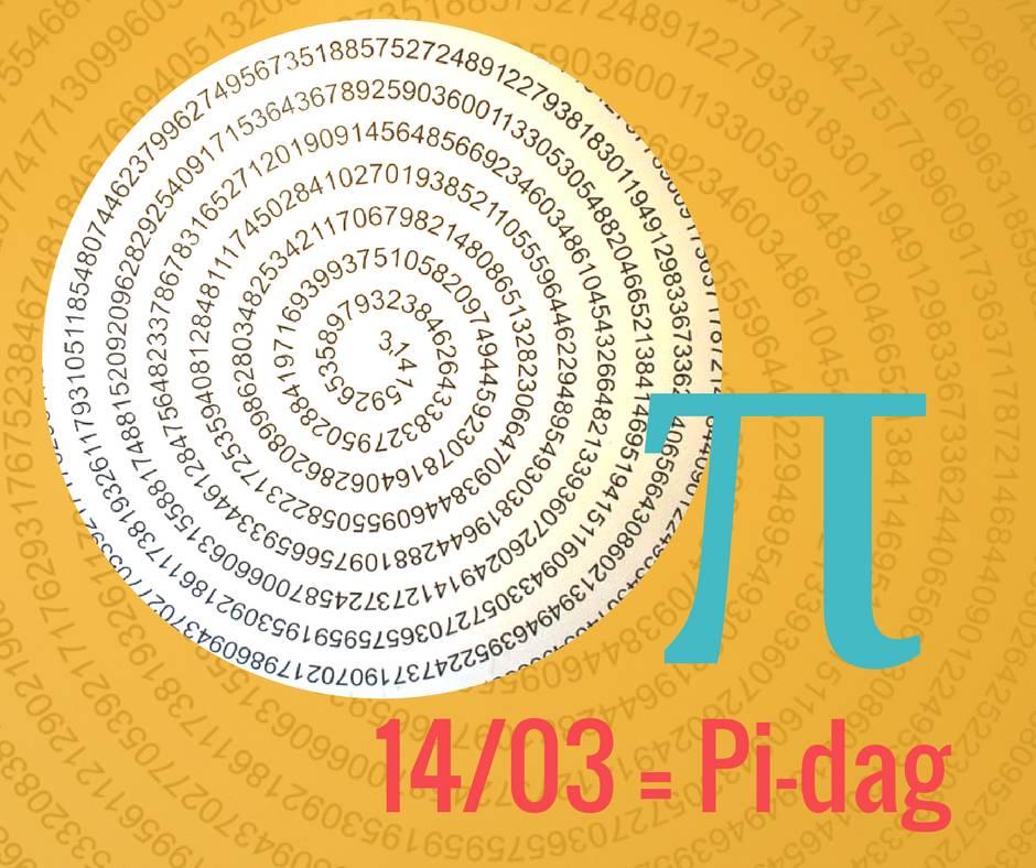 14 maart = Pi-dag