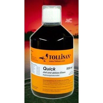 Vet-Schroeder + Tollisan Tollisan Quick 500 ml Aktives Jod & Eisen
