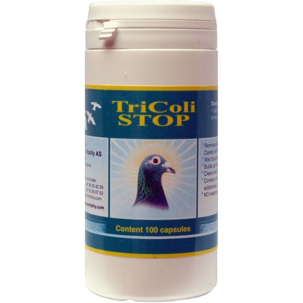 PIGEON VITALITY Tricoli-Stop 100 Pillen