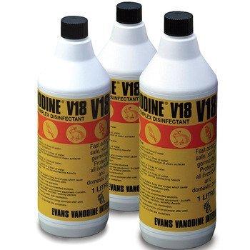 Vanodine V18 Vanodine V18 Desinfecterende 1 l