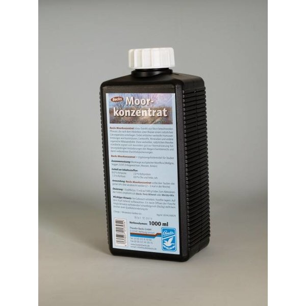 Backs Backs Moor Concentrate 1000 ml