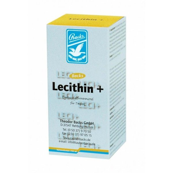 Backs Backs Lecithin 250 ml