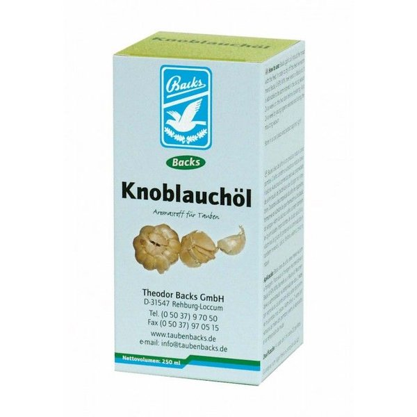 Backs Sichert Knoblauchöl 250 ml