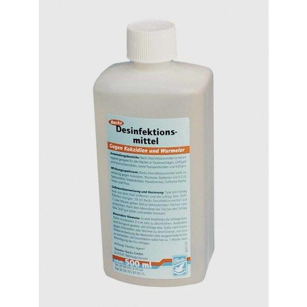 Backs acks disinfectant against coccidia u. Worm Egg 500ml