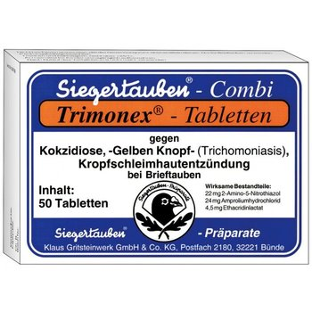 Klaus Trimonex® Tablets Export