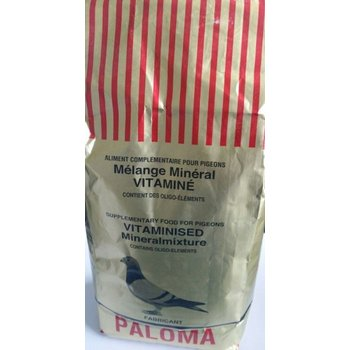 Paloma Paloma Mineral futter 3.600g