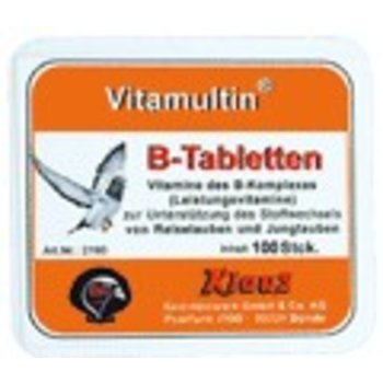 Klaus Vitamultin® B-complex tablet 100pieces