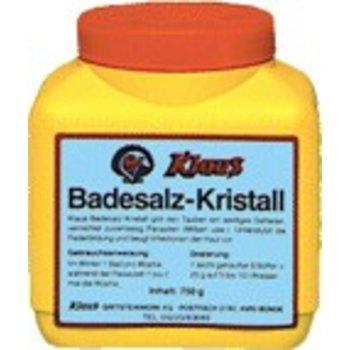 Klaus Bath salt crystal 750grams
