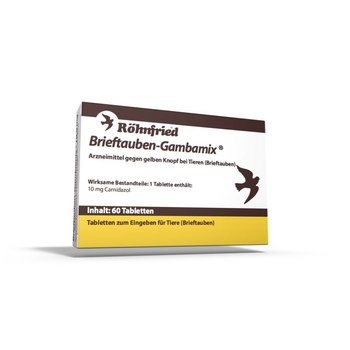 Röhnfried Pigeon-Gambamix NEW !! 60 tablets (formerly Spartrix)