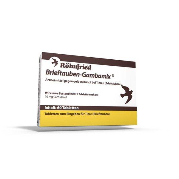 Röhnfried Pigeon-Gambamix NIEUW !! 60 tabletten ( voor heen Spartrix)