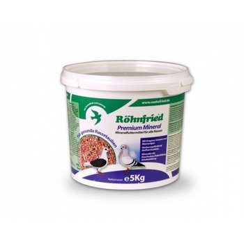 Röhnfried Premium mineraal voor alle sierduiven 5kg