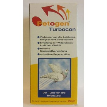 Dr. Wolz Petogen Turbocon 250ml
