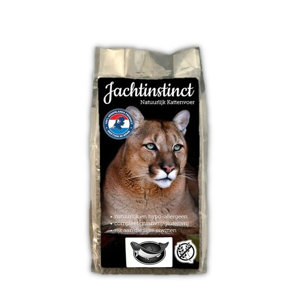Jachtinstinct Katzen Chunks Salmon Grain Free 2 KG